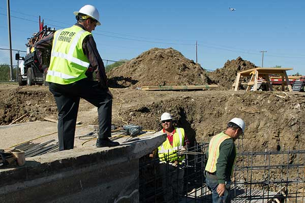 City staff work to construct and maintain a variety of infrastructure projects every day.