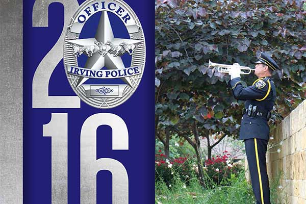 2016 Irving Police Department Annual Report - cover image