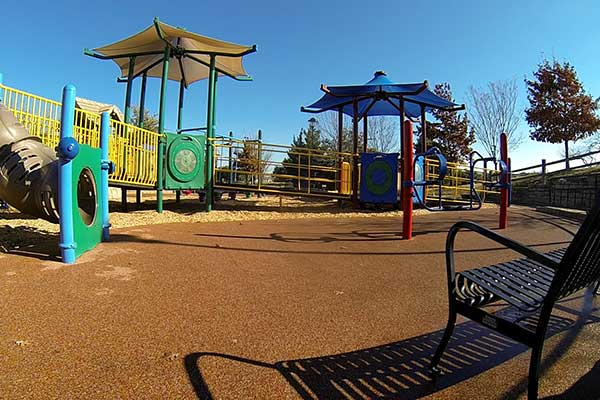 An Irving Texas playground.