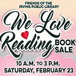 Friends February Book Sale 2019