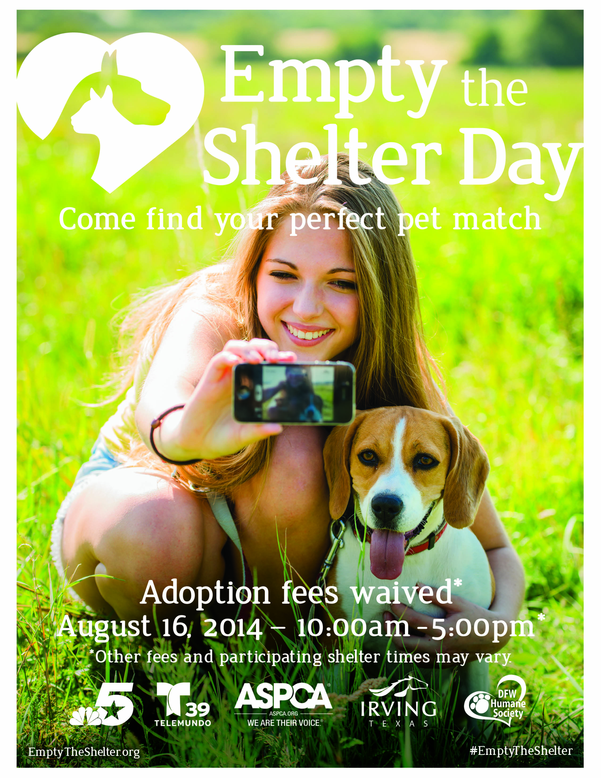 2014 Empty the Shelter Flier