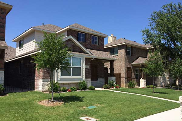 New Tudor Lane home in Irving, Texas.